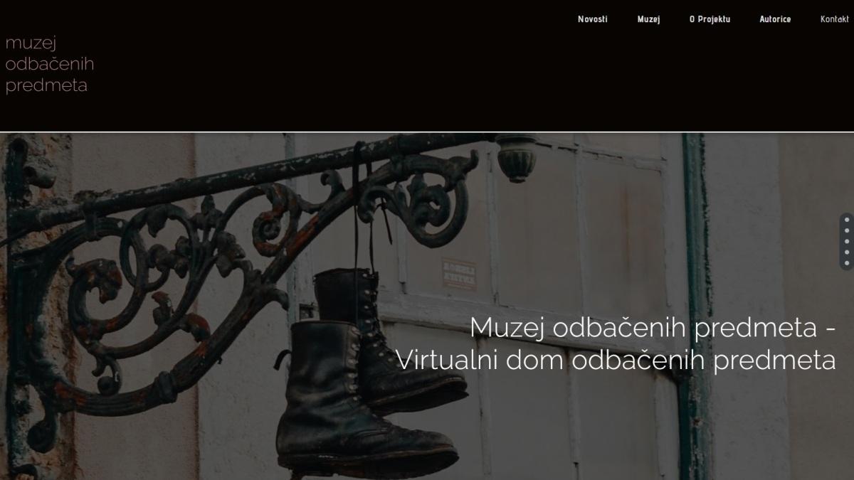 Muzej odbačenih predmeta web